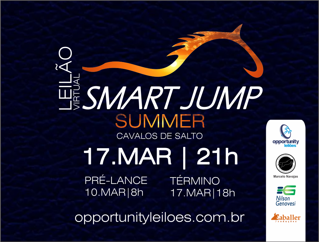 LEILÃO VIRTUAL SMART JUMP - SUMMER