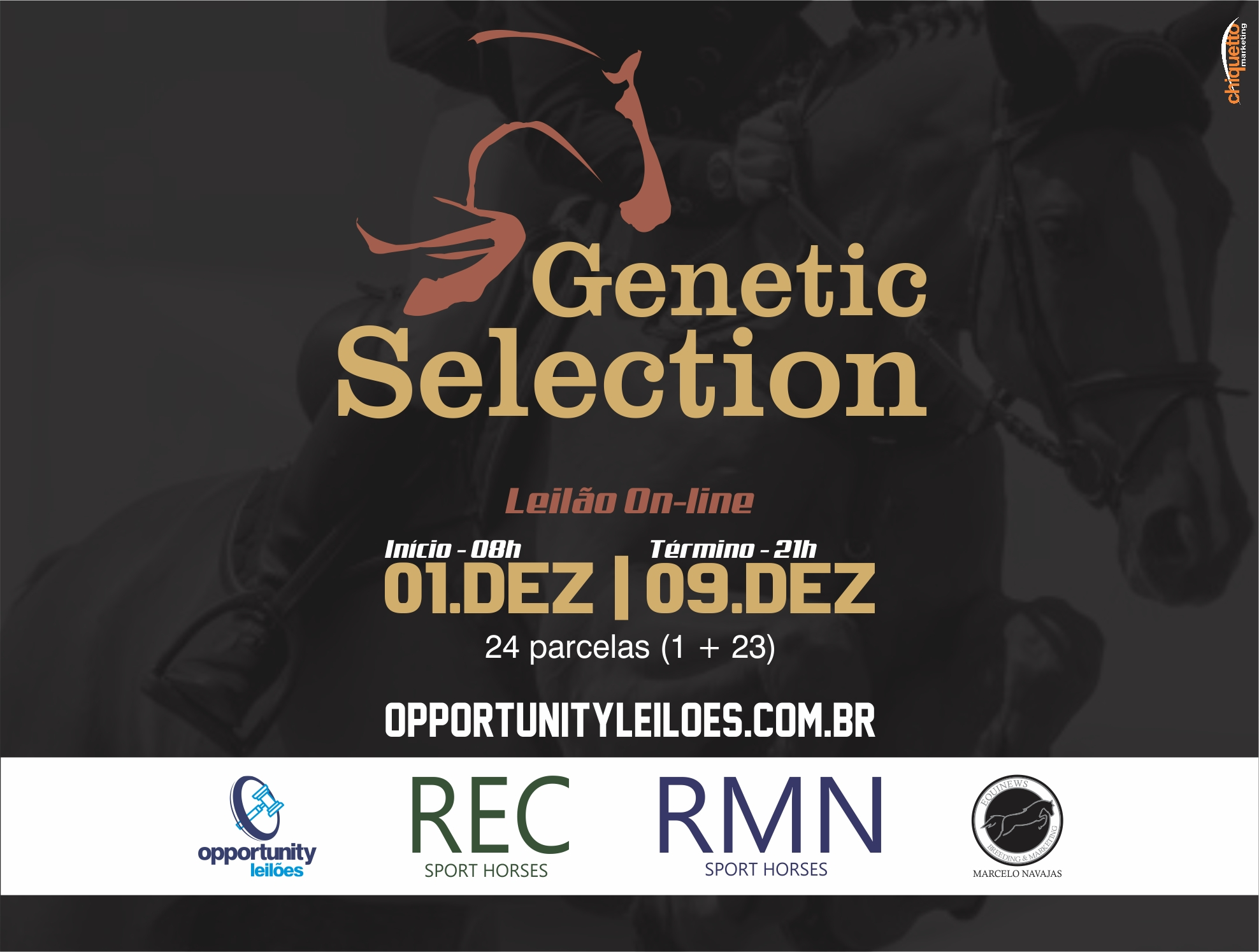 LEILÃO ONLINE GENETIC SELECTION