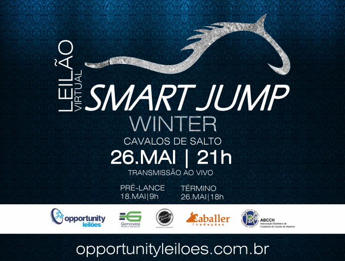 LEILÃO VIRTUAL SMART JUMP WINTER