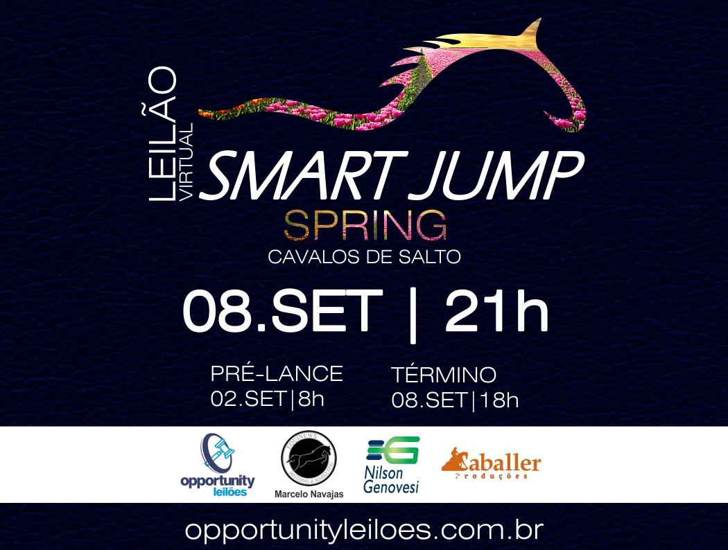 LEILÃO VIRTUAL SMART JUMP SPRING
