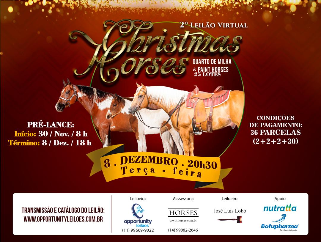 2º LEILÃO VIRTUAL CHRISTMAS HORSES