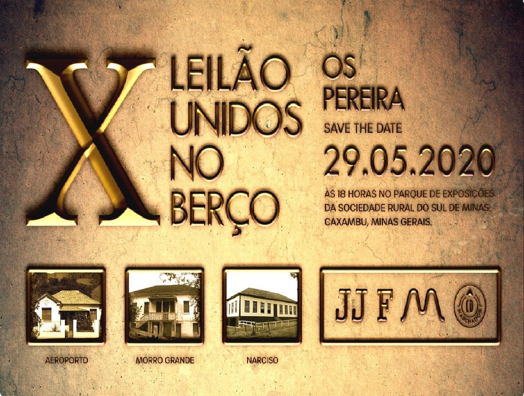X LEILÃO UNIDOS NO BERÇO