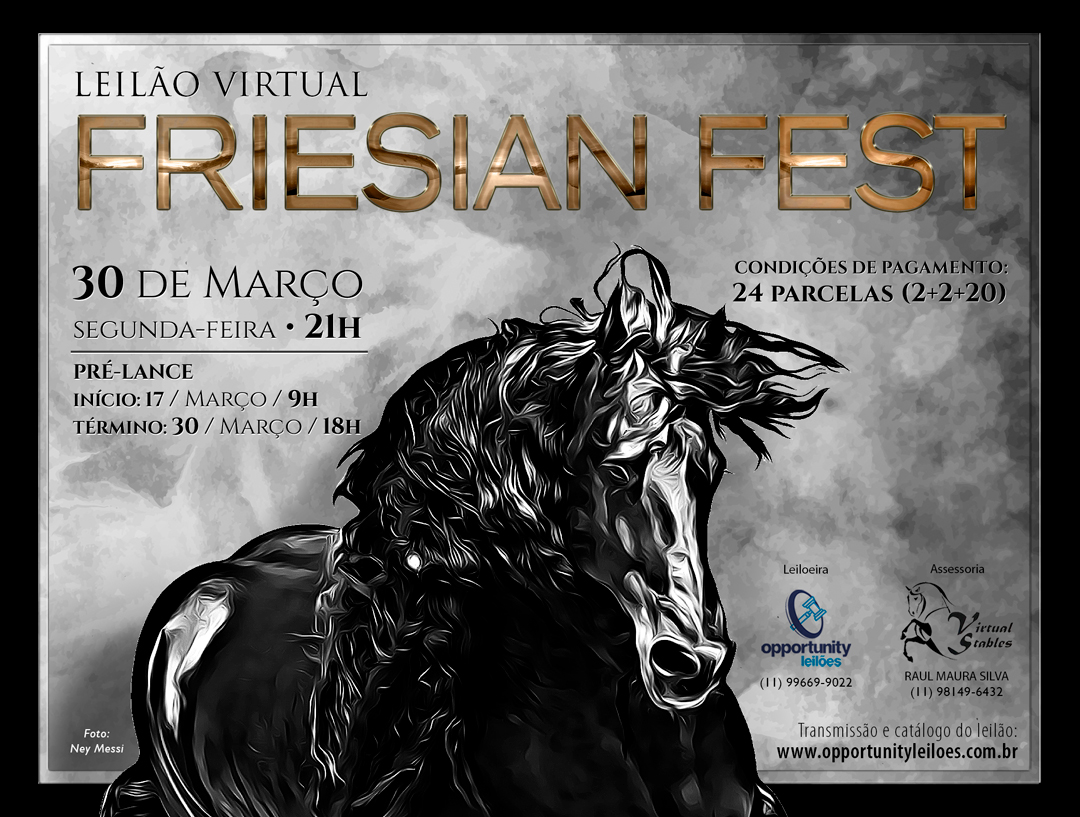 LEILÃO VIRTUAL FRIESIAN FEST