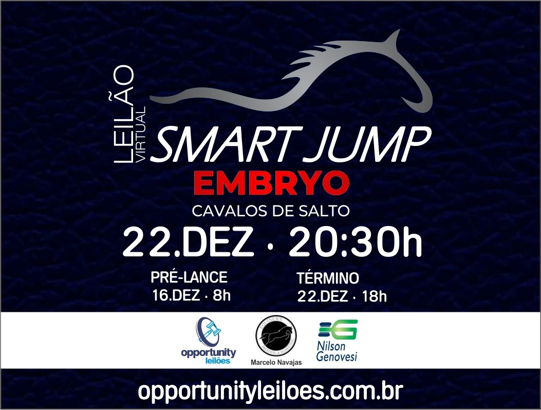 LEILÃO VIRTUAL SMART JUMP EMBRYO
