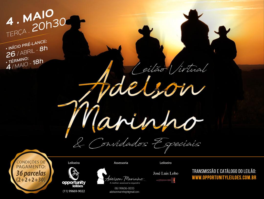 LEILÃO VIRTUAL ADELSON MARINHO & CONVIDADOS