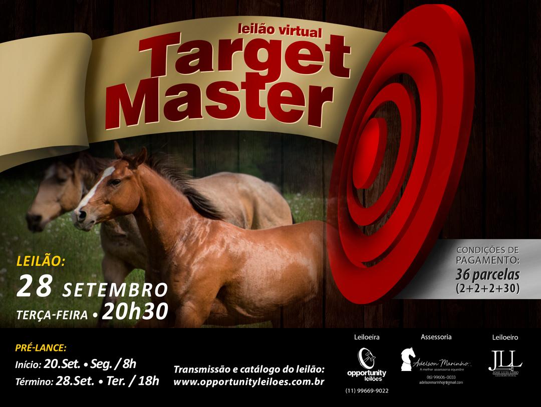 LEILÃO VIRTUAL TARGET MASTER