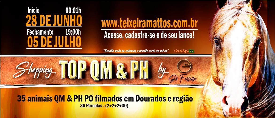 SHOPPING TOP QM & PH BY GÊ FERREIRA