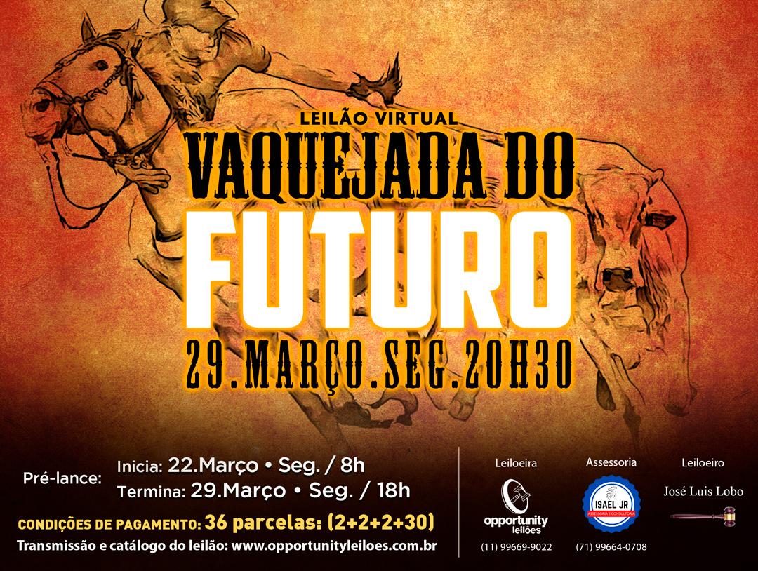 LEILÃO VIRTUAL VAQUEJADA DO FUTURO