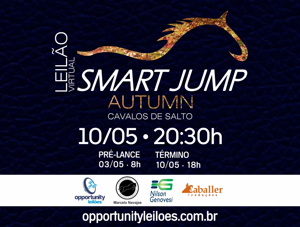 LEILÃO VIRTUAL SMART JUMP - AUTUMN