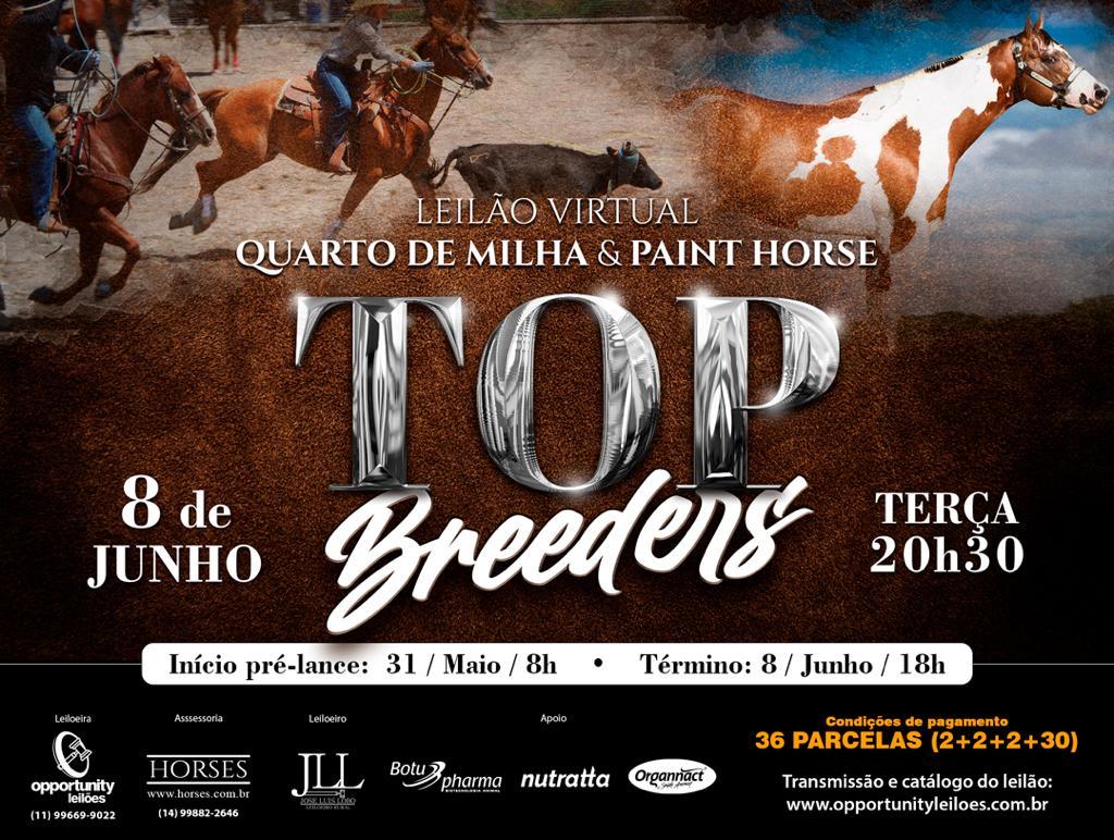 LEILÃO VIRTUAL TOP BREEDERS