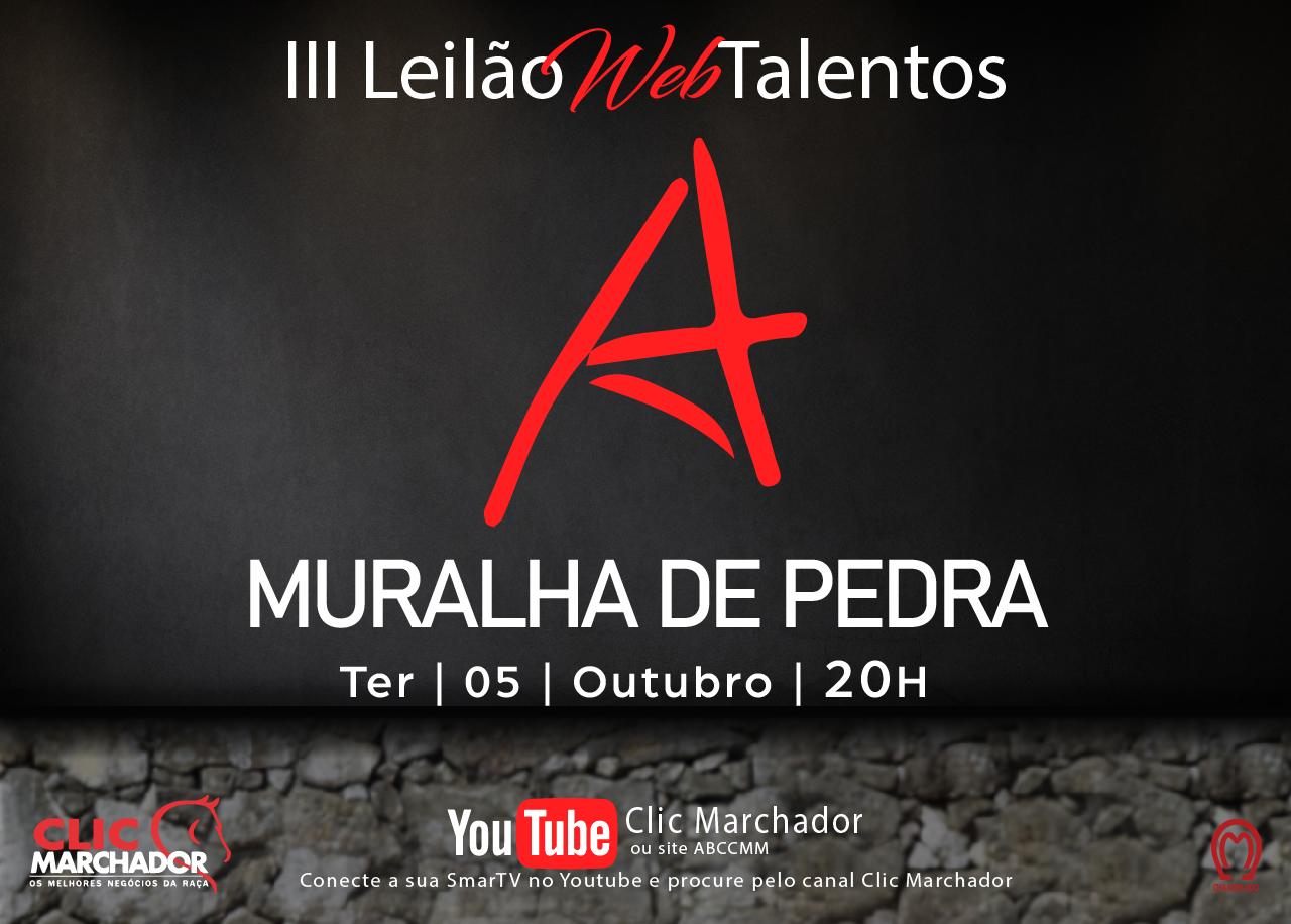 III LEILÃO TALENTOS MURALHA DE PEDRA